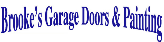 Brooke's Garage Doors and Painting Logo