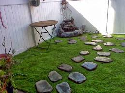 Martinez Care Synthetic Landscaping Backyard