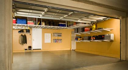 Overhead Storage Solutions Garage