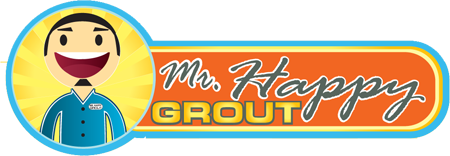 Mr Happy Grout Logo