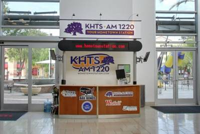 KHTS Kiosk Westfield Valencia Town Cneter
