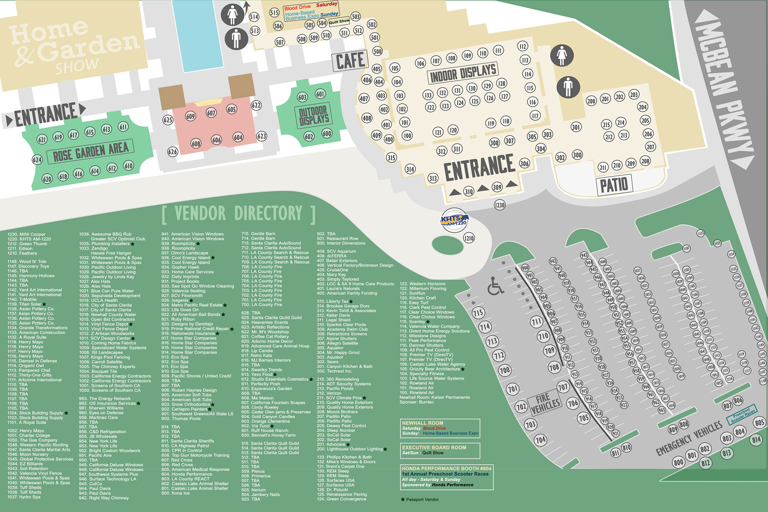 2015 santa clarita home and garden show vendor directory map 2019 khts santa clarita home and for Cal expo home and garden show 2017