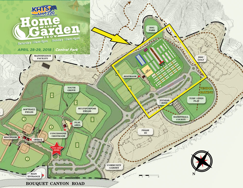 2018 khts santa clarita home and garden show map2019 khts santa clarita home and garden show for Cal expo home and garden show 2017