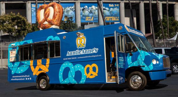 Auntie Anne's Food Truck