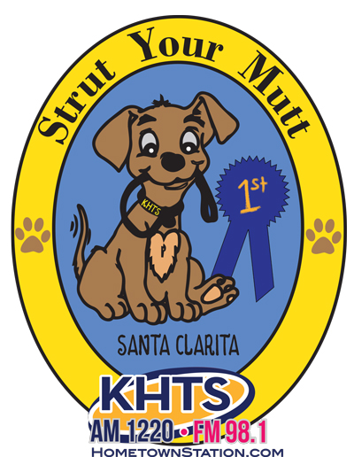 KHTS Strut Your Mutt Dog Show Logo
