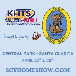 2020 KHTS Strut Your Mutt Dog Show - Graphic