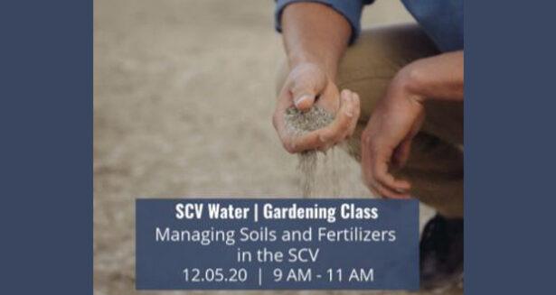 SCV Water Dec 5th Virtual Gardening Class